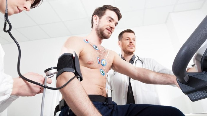 Check up sebelum olahraga agar terhindar dari serangan jantung. Foto: thinkstock