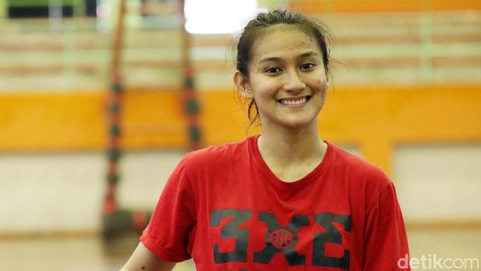 Ranie Palma, pemain Timnas basket 3x3 ke Asian Games 2018. (Grandyos Zafna/detikSport)