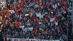 Warga Turki Turun ke Jalan Protes Pemindahan Kedubes AS ke Yerusalem