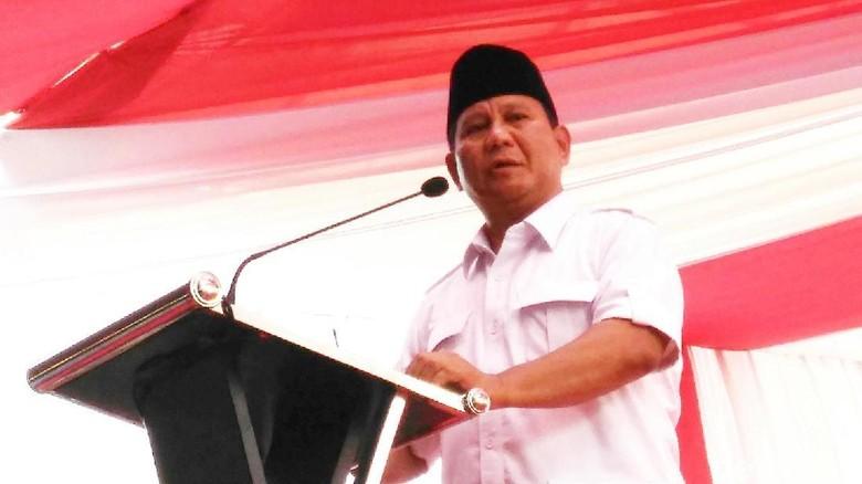 Prabowo: Hati Elite Sudah Beku, Nggak Peduli Rakyatnya