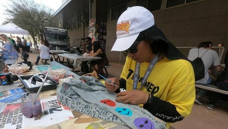 Pulang dari SXSW 2018, Yahya Dwi Kurniawan Eksplorasi Medium Seni