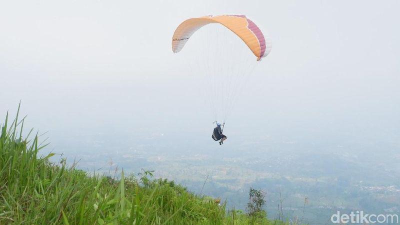 Bukit Keteb ada di Desa Lengkong, Kecamatan Garung, Wonosobo, Jawa Tengah (Uje Hartono/detikTravel)