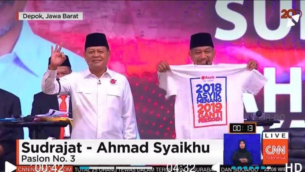 Kata Effendi Gazali Soal 2019 Ganti Presiden di Debat Cagub