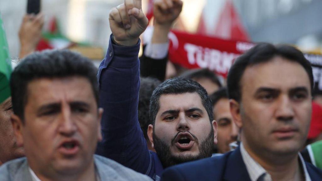 Bertambah, 212 Orang Ditahan Polisi Turki karena Coba Gelar Aksi May Day