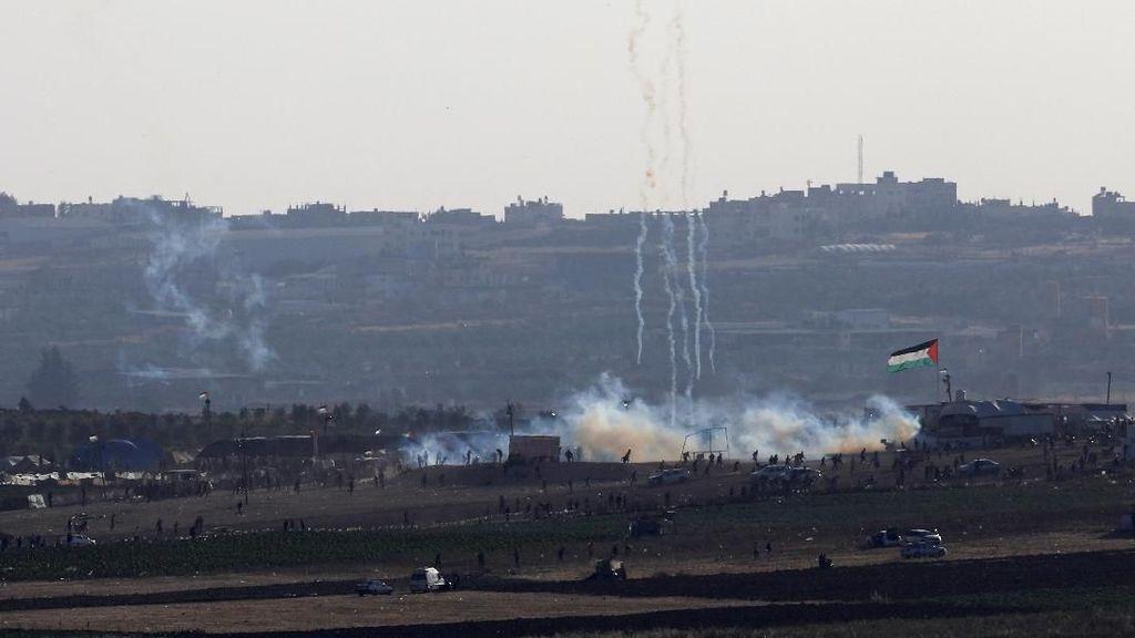 Mahathir Kecam Israel Atas Kematian 60 Warga Palestina di Gaza