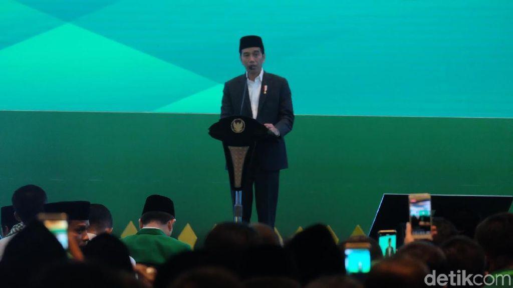Jokowi Lempar Kode ke Rommy soal Cawapres