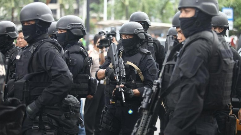 Satu Terduga Teroris Kembali Ditangkap di Riau