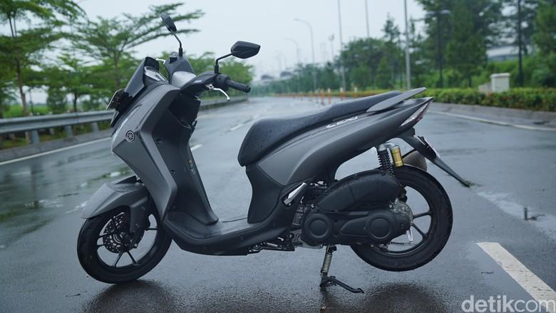 Yamaha Lexi. Foto: Dok. 20detik
