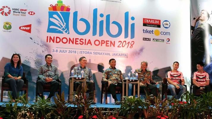 Indonesia Terbuka 2018 Tawarkan Hadiah Besar untuk Pemain