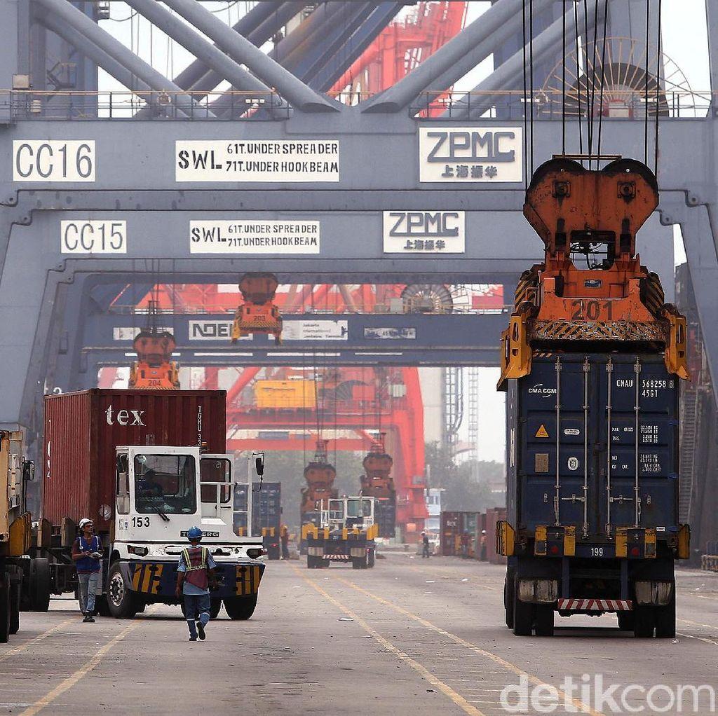 China dan AS Masih Jadi Negara Tujuan Ekspor Terbesar RI