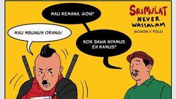 Tak Cuma Komik Jokowi, Hari Prast Juga Adaptasi Lawakan Srimulat