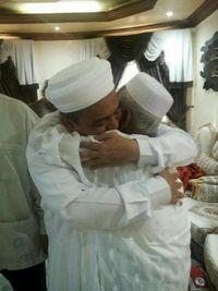 Nyak Sandang bertemu Habib Rizieq saat umrah di Arab Saudi