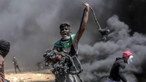 Israel Membela Diri Soal Bentrokan dengan Warga Palestina di Gaza