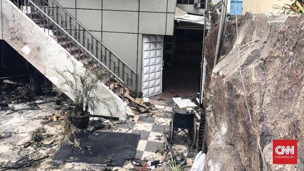 Gereja Santa Maria Lokasi Bom Surabaya Mulai Direnovasi