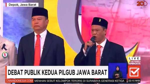 2 Jenderal Redam Pendukungnya saat Insiden 2019 Ganti Presiden