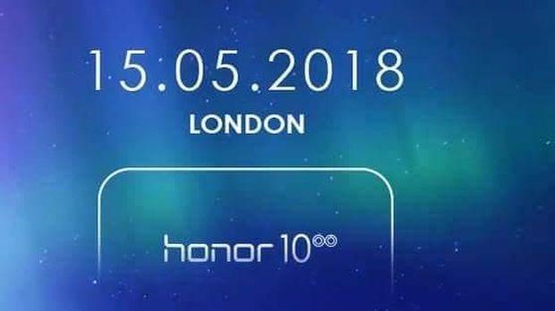 Peluncuran Honor 10 di London, Inggris.