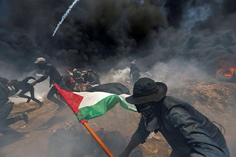Warga Palestina Tewas Ditembak Israel di Pemakaman Demonstran