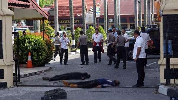 Ini Identitas 4 Teroris Penyerang Mapolda Riau
