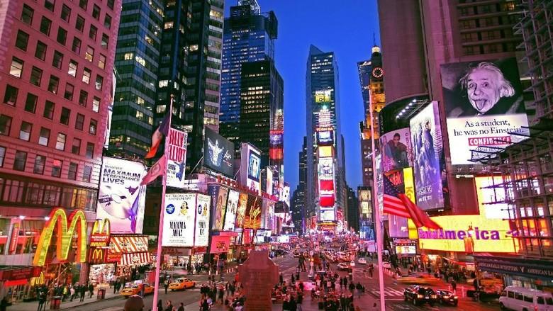 Ilustrasi New York (Thinkstock)