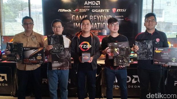 AMD Optimis Kuasai Pasar Gaming Tanah Air