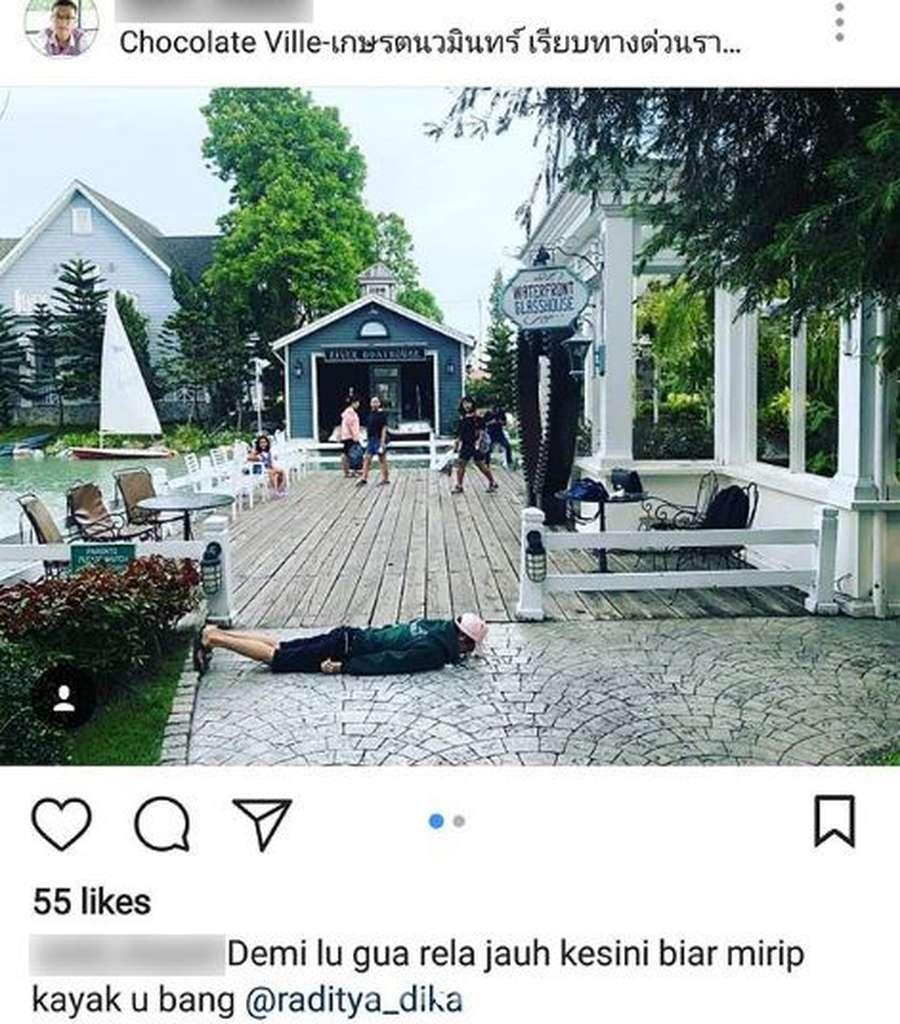 Kemesraan saat Honeymoon ala Raditya Dika