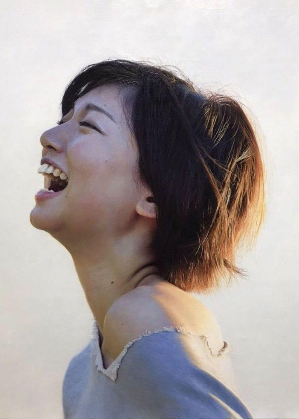 Kei yang asal Hiroshima, sudah menjadi pelukis profesional selama 10 tahun. Foto: Twitter