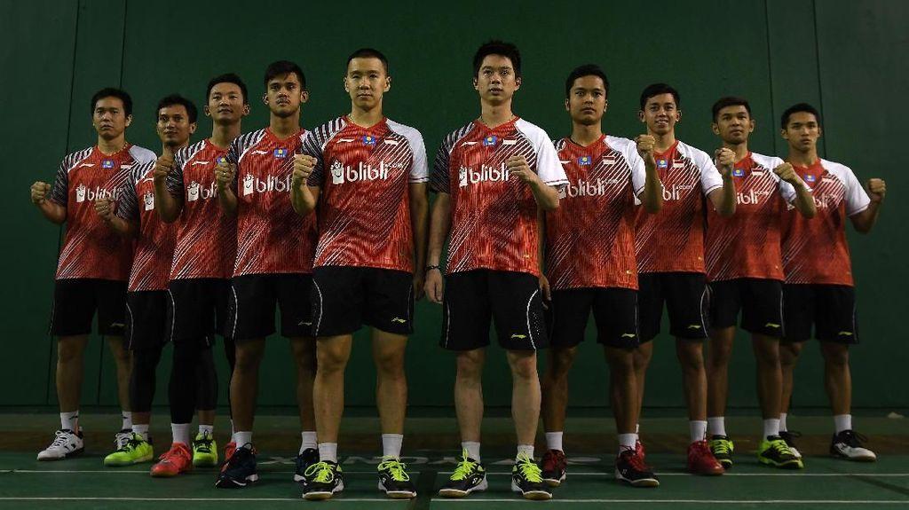 Piala Thomas 2018, Inilah Susunan Tim Indonesia Vs Kanada