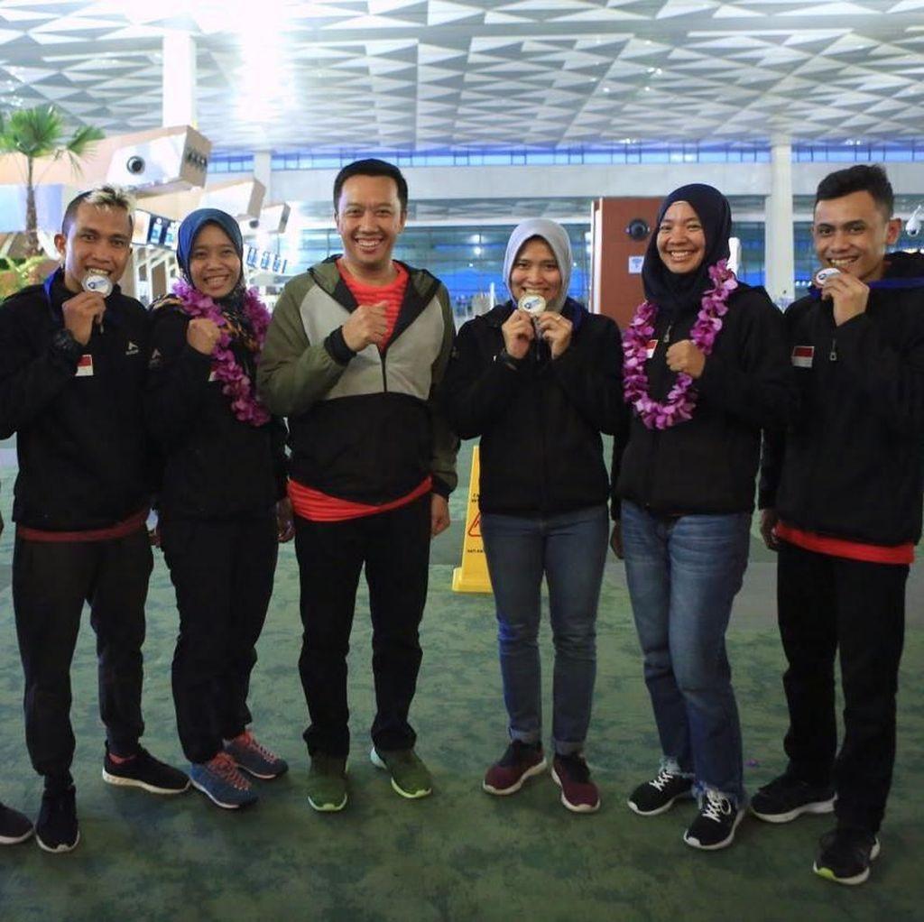 Sambut Juara Dunia Panjat Tebing, Menpora Juga Janjikan Bonus