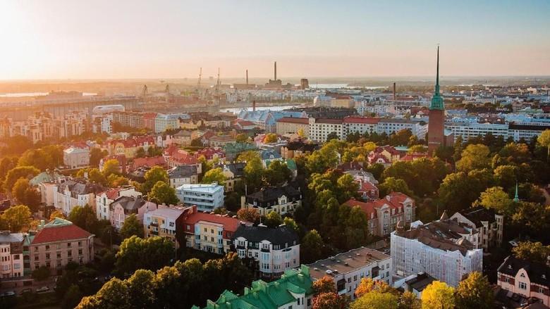 Finlandia, negara paling aman dan bahagia di dunia (visitfinland/Facebook)