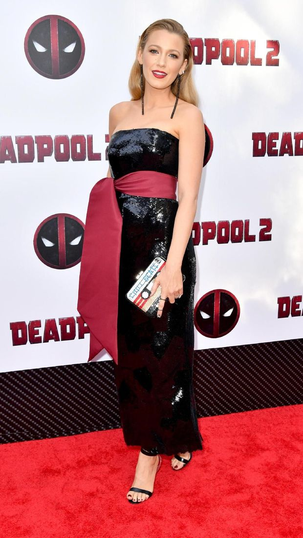 Blake Lively di screening 'Deadpool 2'.