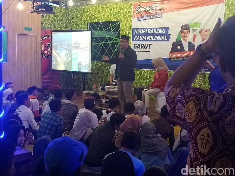 Di Garut, Ridwan Kamil Janji Terapkan Ekonomi Berbasis Masjid