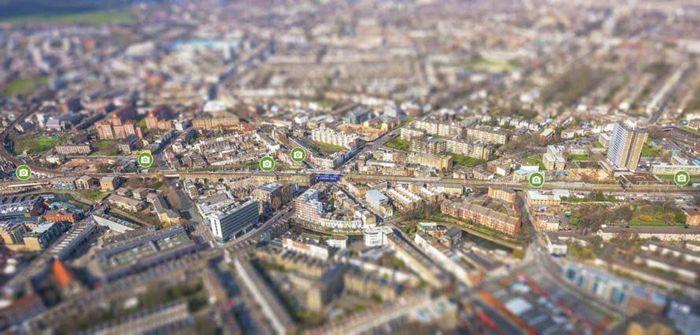 Jalur kereta layang di Camden, London ini sudah lama tidak digunakan lagi. Inhabitat/Istimewa.