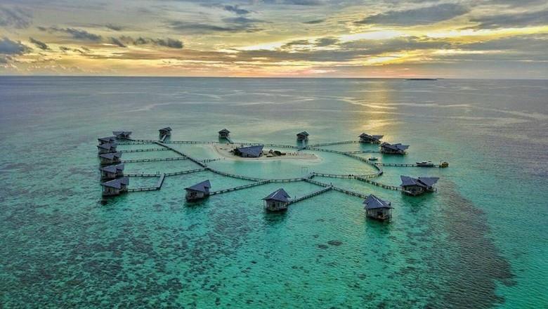 Foto: Pulo Cinta (Pulo Cinta Eco Resort/Facebook)