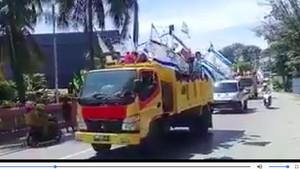 Konvoi Bendera Israel di Jayapura Dilakukan Komunitas Sion Kids
