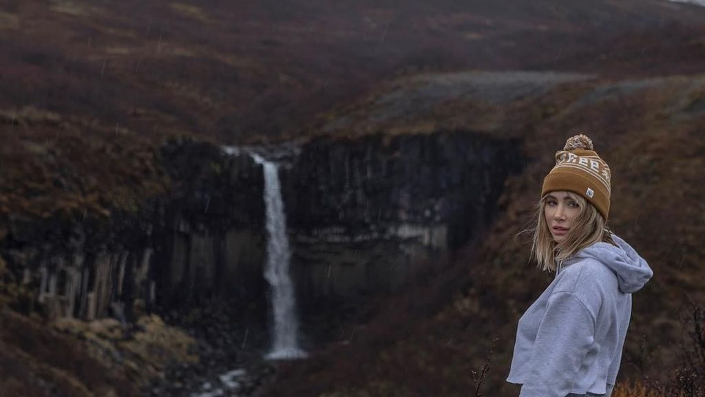 Foto: Petualangan Mantan Bintang Playboy di Islandia