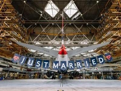Maskapai Inggris Ikut Rayakan Pernikahan Pangeran Harry
