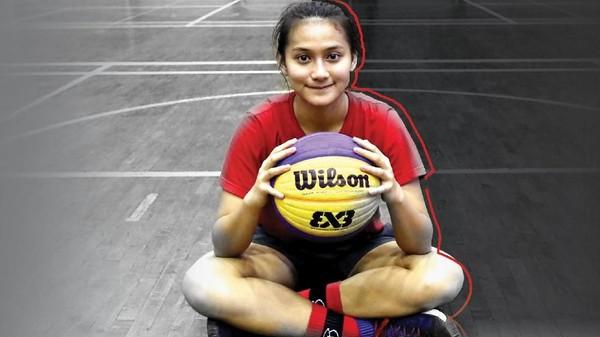 Ranie Palma Si Cantik Jago Basket