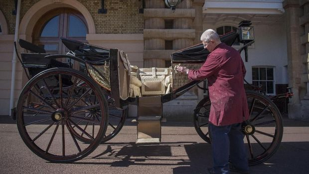 Kereta Kuda Mulai Dipersiapkan Jelang Nikahan Harry-Meghan Markle