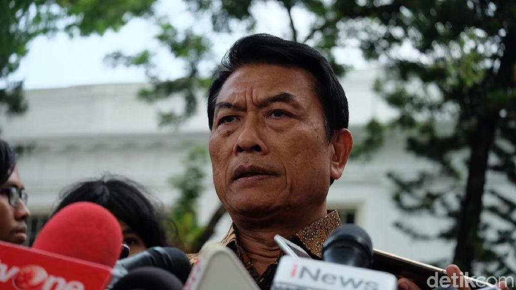 Moeldoko Minta Relawan Jokowi Hindari Kampanye Negatif