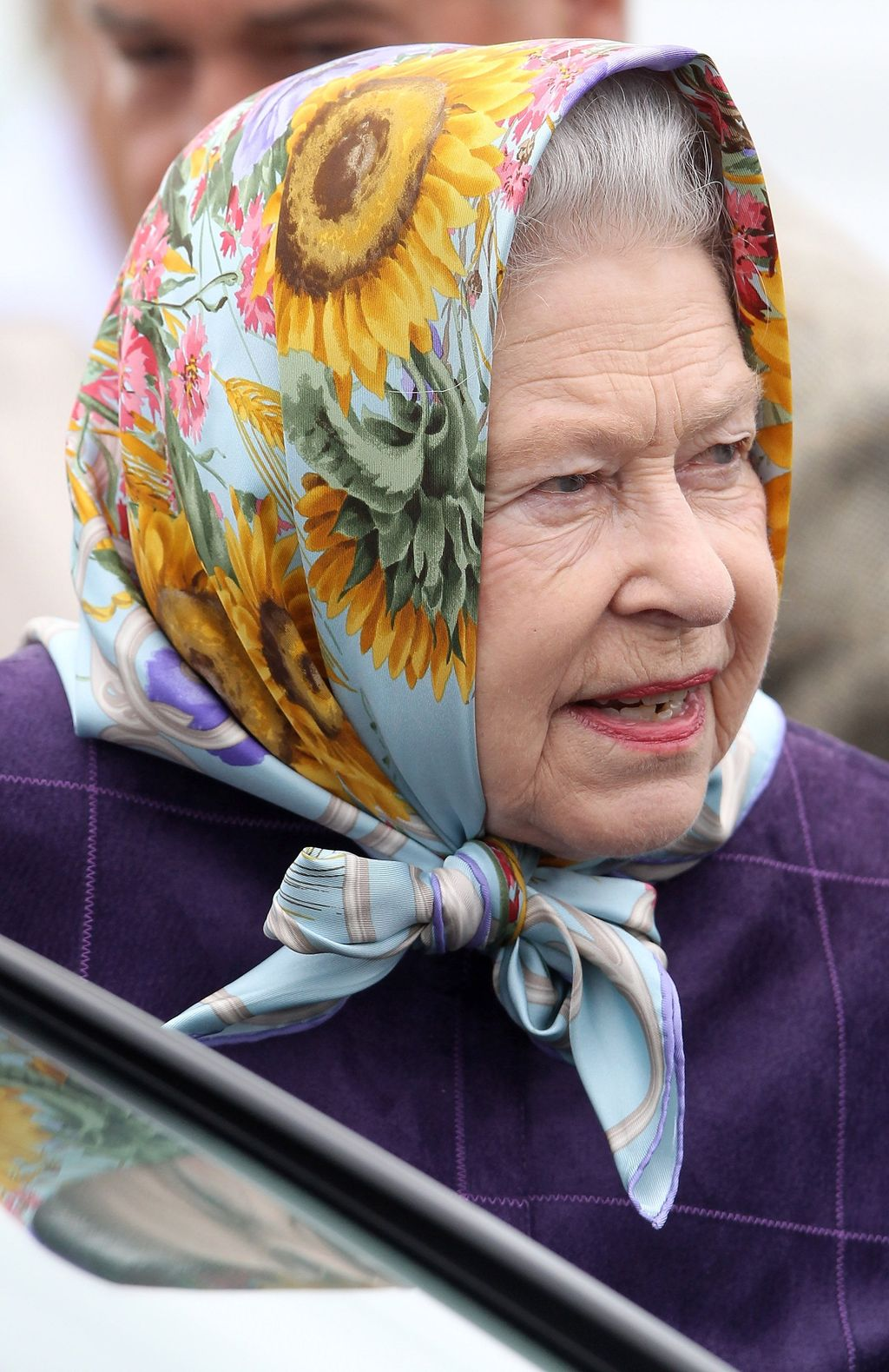 SANDRINGHAM, ENGLAND - FEBRUARY 3:  Queen Elizabeth II arrives for a Tree Planting ceremony in the Diamond Jubilee Wood on the Sandringham estate to mark her Diamond jubilee on February 3, 2012 in Sandringham, England. Queen Elizabeth II came to the throne on February 6, 1952 after the death of her father, King George VI. Her coronation took place on June 2, 1953. (Photo by Arthur Edwards/WPA -Pool/Getty Images)