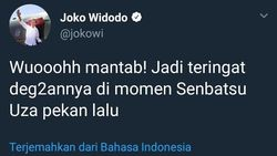 Cerita Admin Jokowi Dibebastugaskan Gegara Tweet JKT48