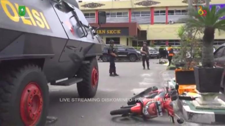 Terduga Teroris di Riau yang Tewas Bawa Secarik Tulisan Tangan