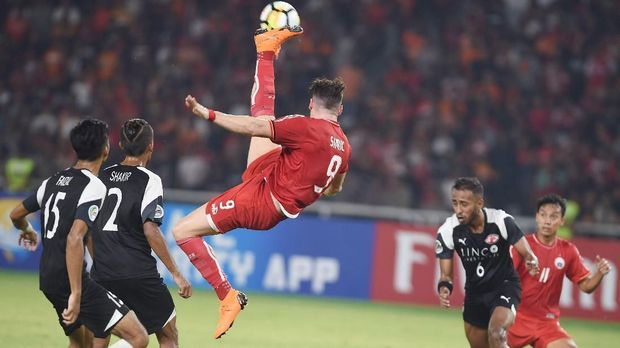 Persija pernah menghadapi Home United di Piala AFC musim lalu. (