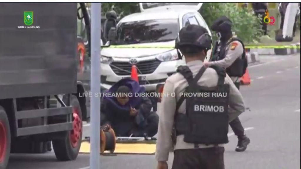 Diserang Teroris, Mapolda Riau Puncaki Trending Topic