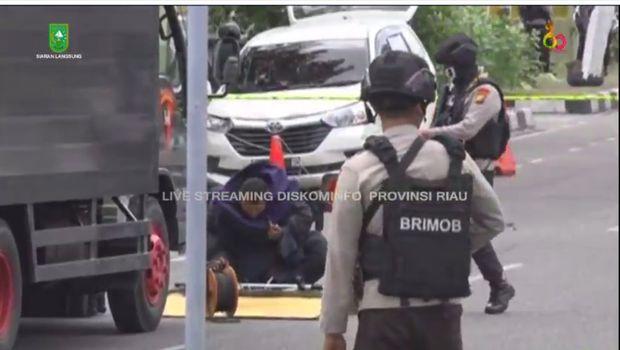 Polda Riau Diserang Teroris, Polisi Gerebek Lima Titik di Dumai