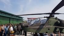 TNI Terima 8 Helikopter Tempur Apache Canggih Hari Ini