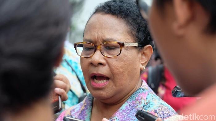 Menteri Pemberdayaan Perempuan dan Perlindungan Anak Yohana Yembisa (Andhika/detikcom)