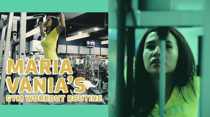 Sebagai presenter olahraga, Maria Vania juga ingin punya gaya hidup yang sporty dan bugar. (Foto: 20detik)