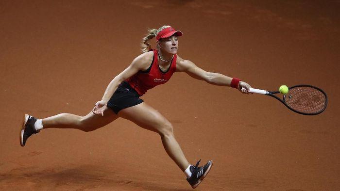 Angelique Kerber melaju ke babak kedua Italia Terbuka (Foto: Alex Grimm/Getty Images)