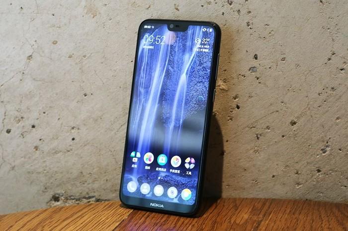 Ponsel Nokia X6. Foto: Sina Mobile